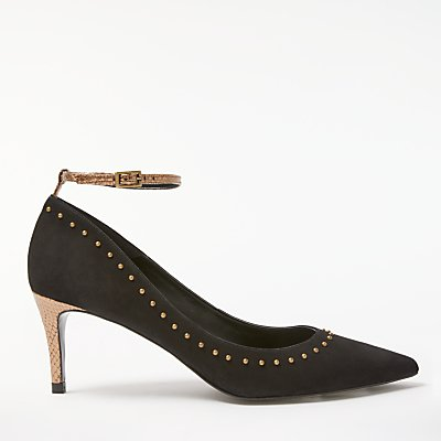 AND/OR Amalur Stud Detail Court Shoes