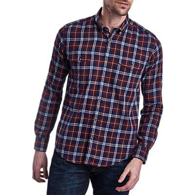 Barbour International Julian Long Sleeve Shirt, Navy