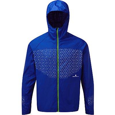Ronhill Momentum Sirius Men's Windshell Running Jacket, Blue