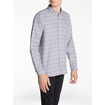 Hawksmill Denim Co Fleck Stripe Shirt