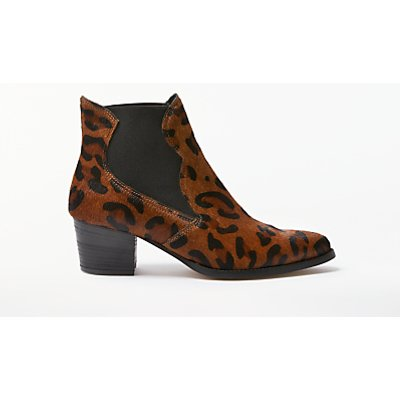 AND/OR Prema Chelsea Boots, Leopard