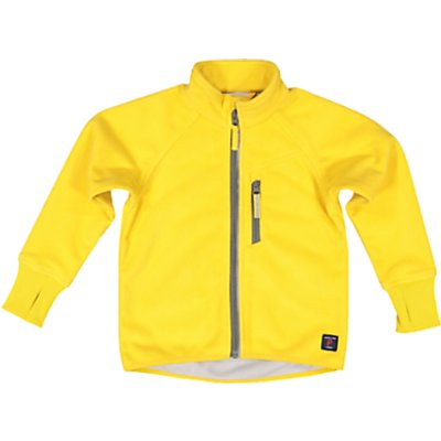 Polarn O. Pyret Children's Fleece Jacket, Yellow