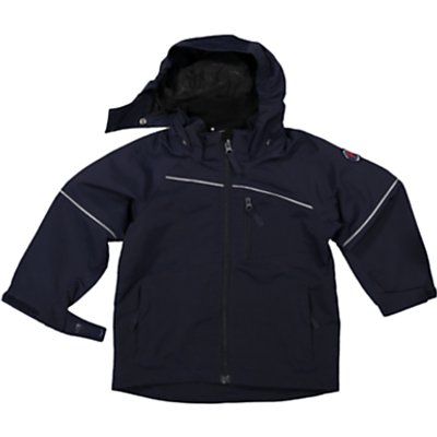 Polarn O. Pyret Children's Shell Coat, Navy