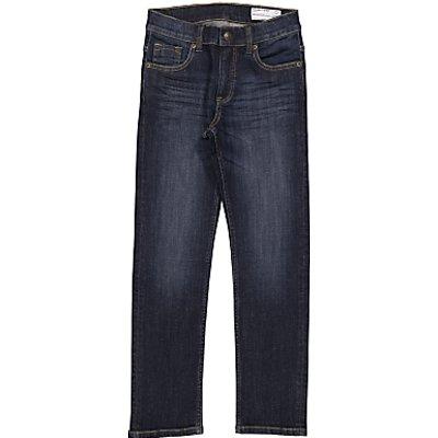 Polarn O. Pyret Children's Regular Fit Denim Jeans, Navy