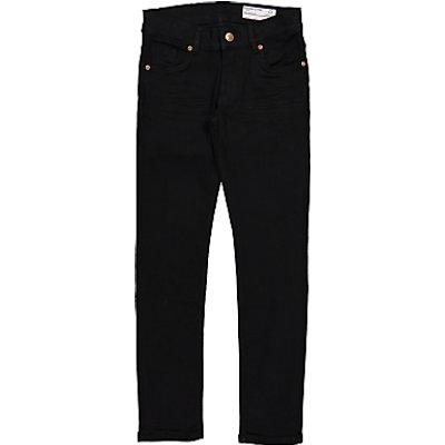 Polarn O. Pyret Children's Slim Fit Denim Jeans, Black