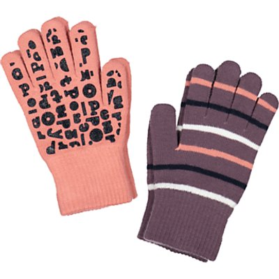 Polarn O. Pyret Children's Magic Gloves, Pack of 2, Purple