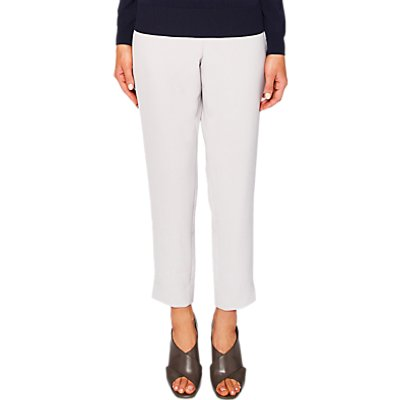 Ted Baker Rutti Tapered Ankle Grazer Trousers, Light Grey