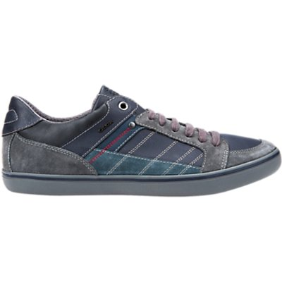 Geox Cupsole Anthracite Shoes, Anthracite/Navy