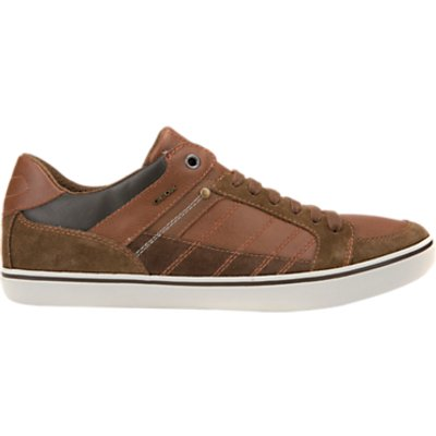Geox Box Cupsole Trainers, Brown
