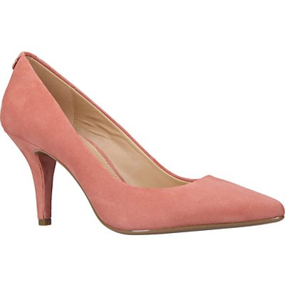MICHAEL Michael Kors Flex High Heeled Stiletto Court Shoes  Pale Pink Suede