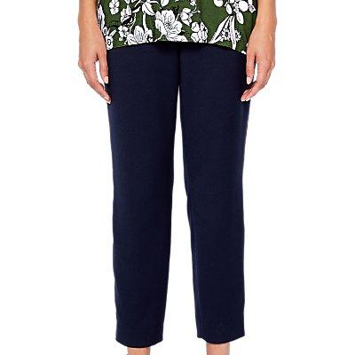 Ted Baker Baya Side Stripe Trousers, Navy