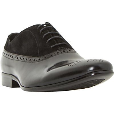 Dune Pixel Oxford Shoes, Black