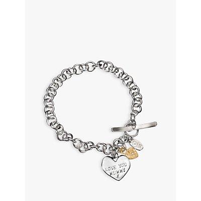 Chambers & Beau Mummy Love Personalised Charm Bracelet