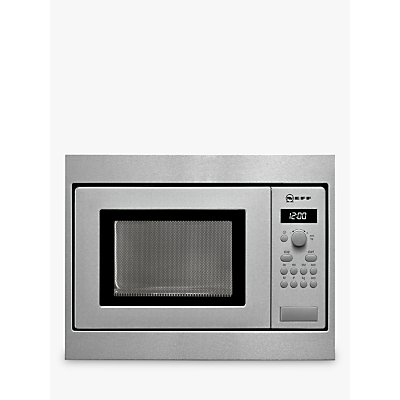 4242004159377 | Neff H53W50N3GB 50cm Built In Microwave  Stainless Steel Store
