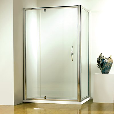 20032241 | John Lewis 120 x 80cm Shower Enclosure with Pivot Door and Side Panel Store