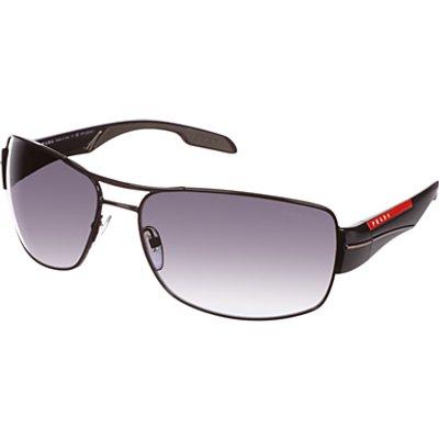 Prada Linea Rossa PS53NS Sport Polarised Sunglasses, Black