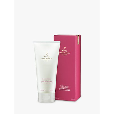 Aromatherapy Associates Renewing Rose Body Cream, 200ml