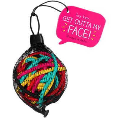 Happy Jackson Get Outta My Face Hairband Ball, Pack of 30