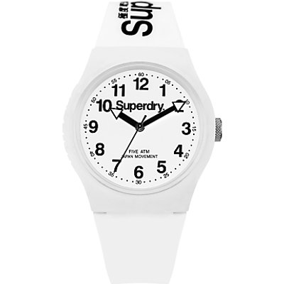 Superdry Unisex Urban Silicone Strap Watch