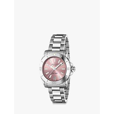 Gucci YA136401 Women s Dive Stainless Steel Bracelet Strap Watch - 0731903358157