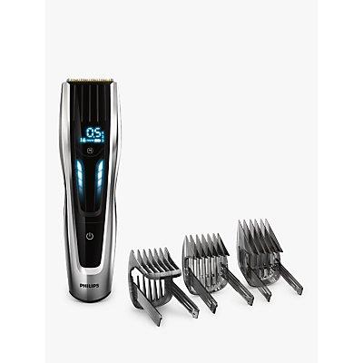 Philips HC9450/13 Series 9000 Hair Clipper, Black/Silver