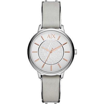 Armani Exchange Women's Leather Strap Watch