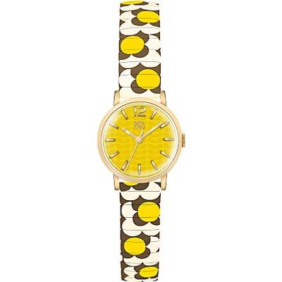 Orla Kiely Women's Frankie Bracelet Strap Watch