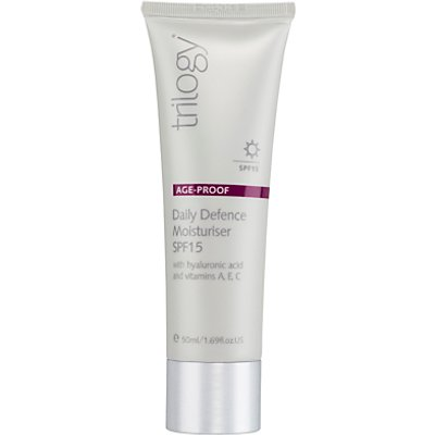 Trilogy Daily Defence Moisturiser SPF 15, 50ml