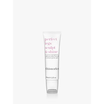 This Works Perfect Legs Sculpt & Shine, 60ml