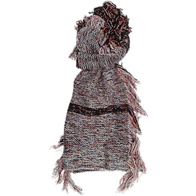 French Connection Floral Fringe Scarf, Berry Mix