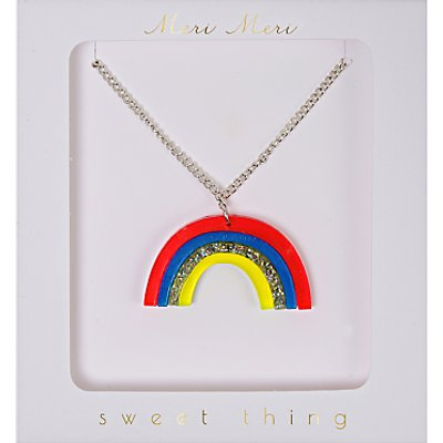 Meri Meri Rainbow Necklace, Multi