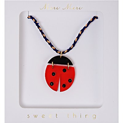 Meri Meri Ladybird Necklace, Multi