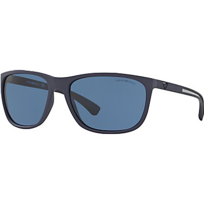 Emporio Armani EA4078 Rectangular Sunglasses