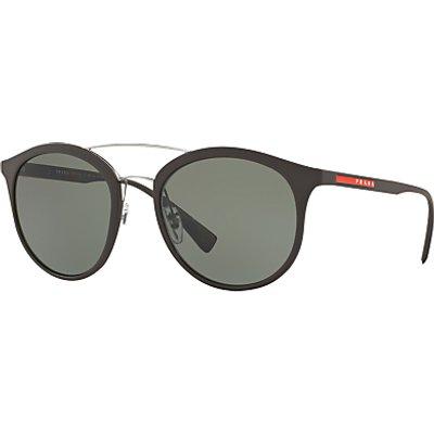 Prada Linea Rossa PS 04RS Polarised Oval Sunglasses