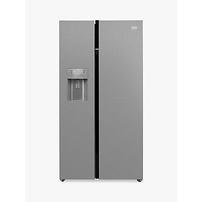 Beko ASGN542S Fridge Freezer, A+ Energy Rating, 91cm Wide, Silver
