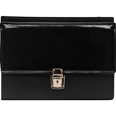 French Connection Clean Carina Clutch, Black