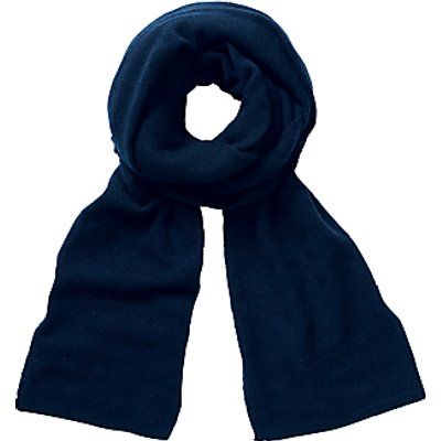 Pure Collection Nadia Cashmere Scarf, Navy