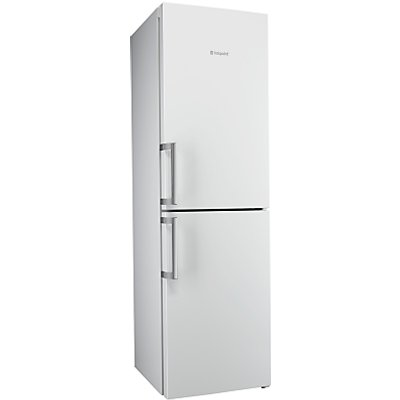 Hotpoint Ultima XJL95T2UWOH Freestanding Frost Free Combi Fridge Freezer, A++ Energy Rating, 60cm Wi