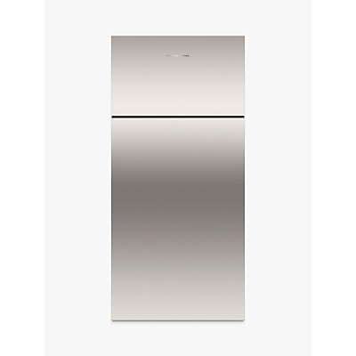 Fisher & Paykel RF521TRPX6 Freestanding Fridge Freezer, A+ Energy Rating, 80cm Wide, Stainless Steel