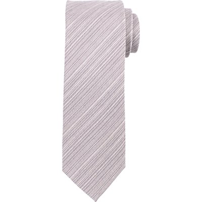 John Lewis Hairline Stripe Tie, Grey