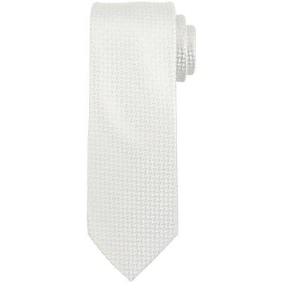John Lewis Tonal Geo Diamond Tie, Silver
