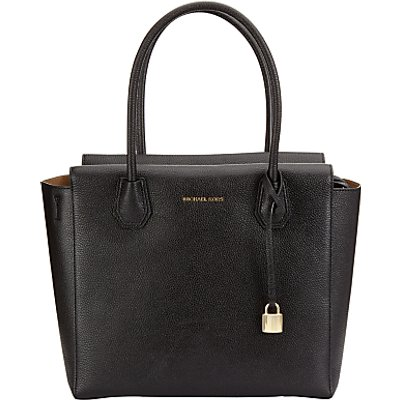 MICHAEL Michael Kors Mercer Large Leather Satchel