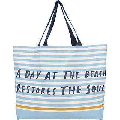 John Lewis A Day at the Beach Extra Large Tote Bag