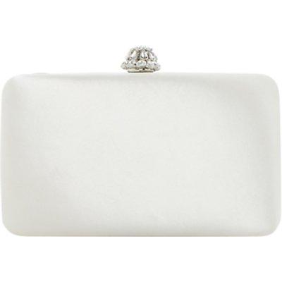 Dune Bridal Collection Bridey Satin Match Clutch Bag