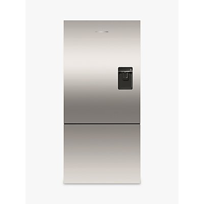 Fisher & Paykel RF522BRPUX6 Fridge Freezer, A+ Energy Rating, 80cm Wide, Stainless Steel