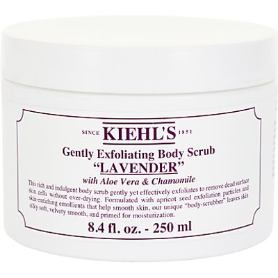 Kiehl's Lavender Gently Exfoliating Body Scrub, 250ml