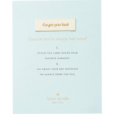 kate spade new york Sew In Label