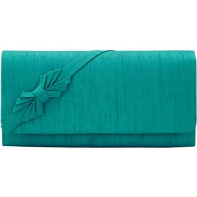 Jacques Vert Petite Clutch Bag, Bright Green
