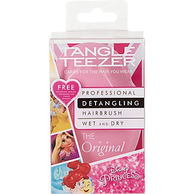 Tangle Teezer Disney Princess Original Detangling Hair Brush, Pink