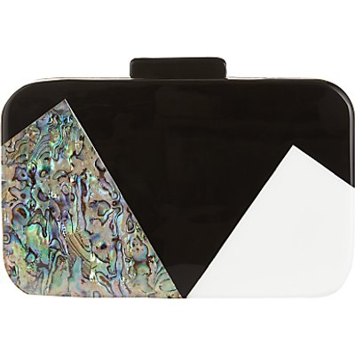 John Lewis Stormm Box Clutch Bag, Multi